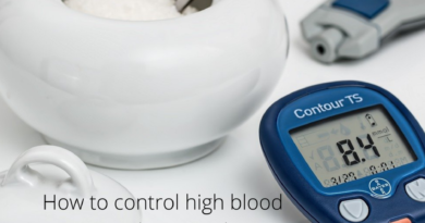 How to control high blood sugar without medicine